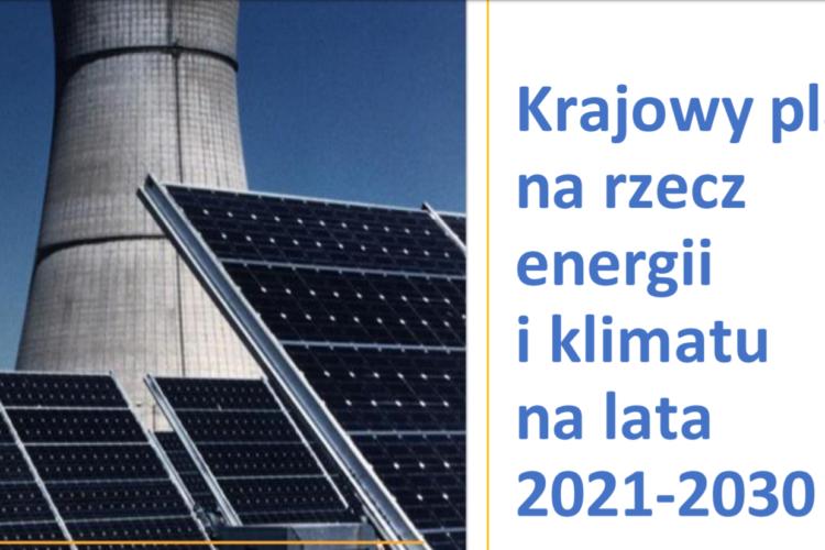 Projekt Planu na Rzecz Energii i Klimatu 2030 nie spełnia podstawowych wymogów dotyczących planów gospodarki niskoemisyjnej w Polsce