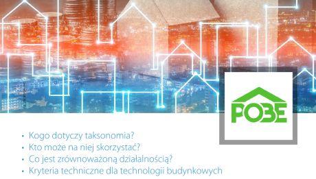 Poradnik POBE: Taksonomia zrównoważonego finansowania